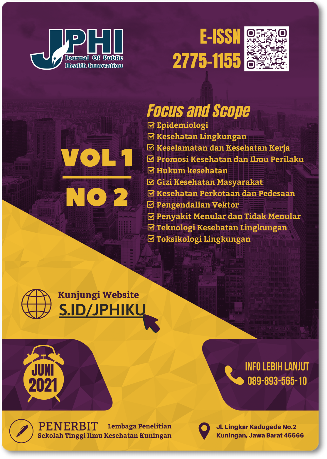 View Vol. 1 No. 2 (2021): Journal of Public Health Innovation